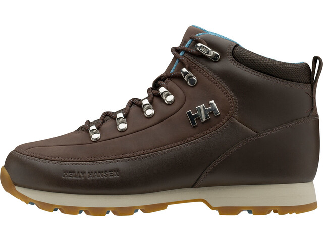 Helly Hansen The Forester Chaussures Femme, coffee bean/tundra blue